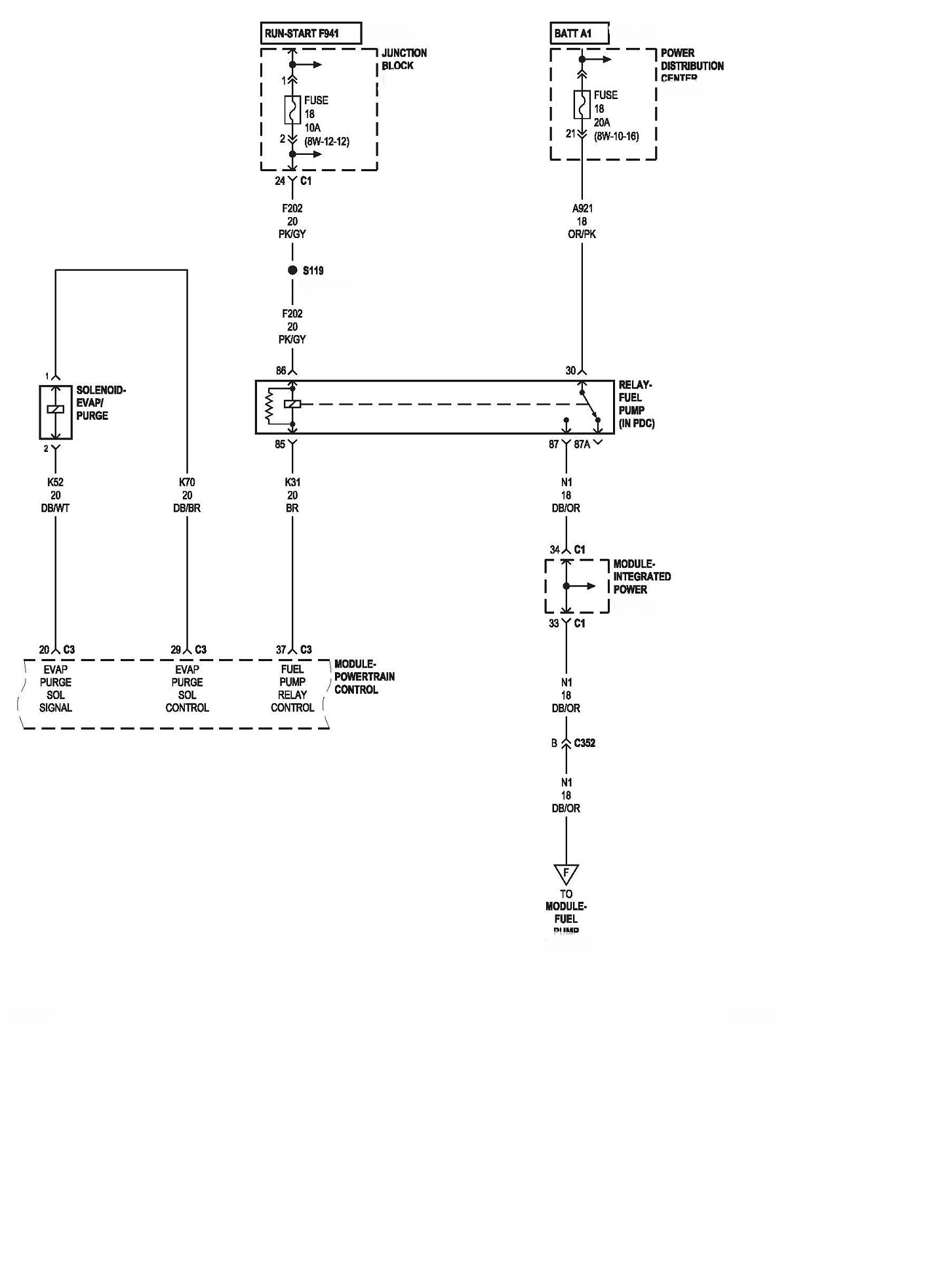 1999 Dodge Dakota Wiring Schematic Gota Wiring Diagram