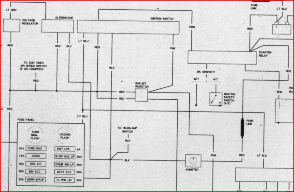 Ignition Switch Wiring Schematic Dodgetalk Forum