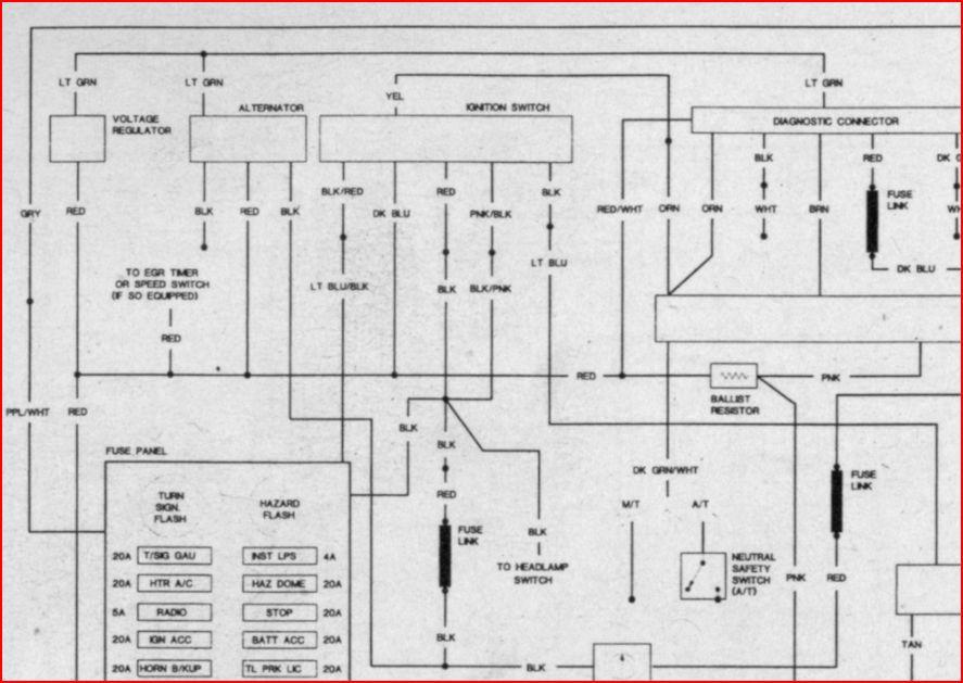 Ignition Switch Wiring Schematic Dodgetalk Forum