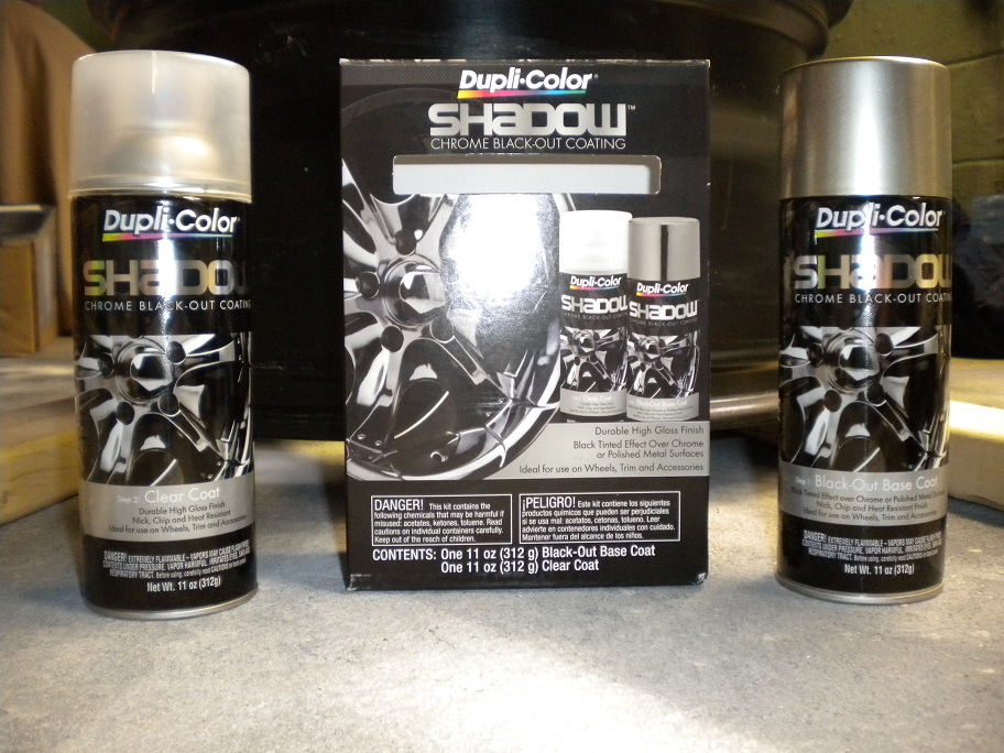 Dupli Color Shadow Chrome Blackout Coating Review Pic
