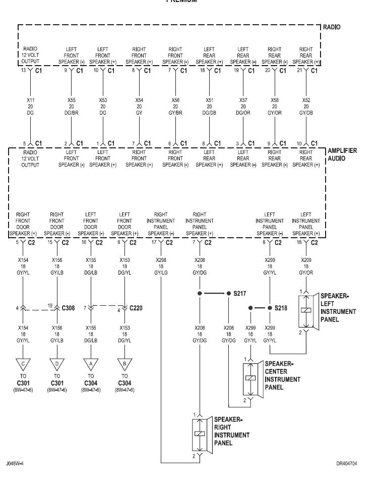 [DIAGRAM_1CA]  04 QC/Infinity. Aftermarket Stereo install problem. | DodgeTalk Forum | 2007 Ram Infinity Speaker Wiring Diagram |  | DodgeTalk.com
