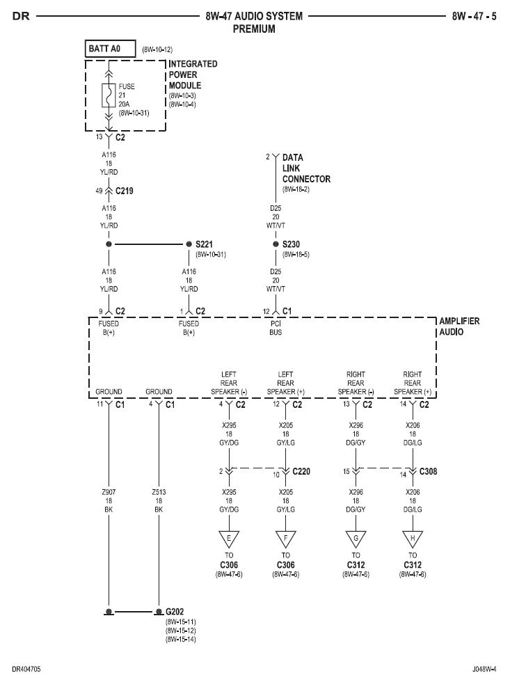 2004 Dodge Durango Infinity Sound System Wiring Diagram from www.dodgetalk.com