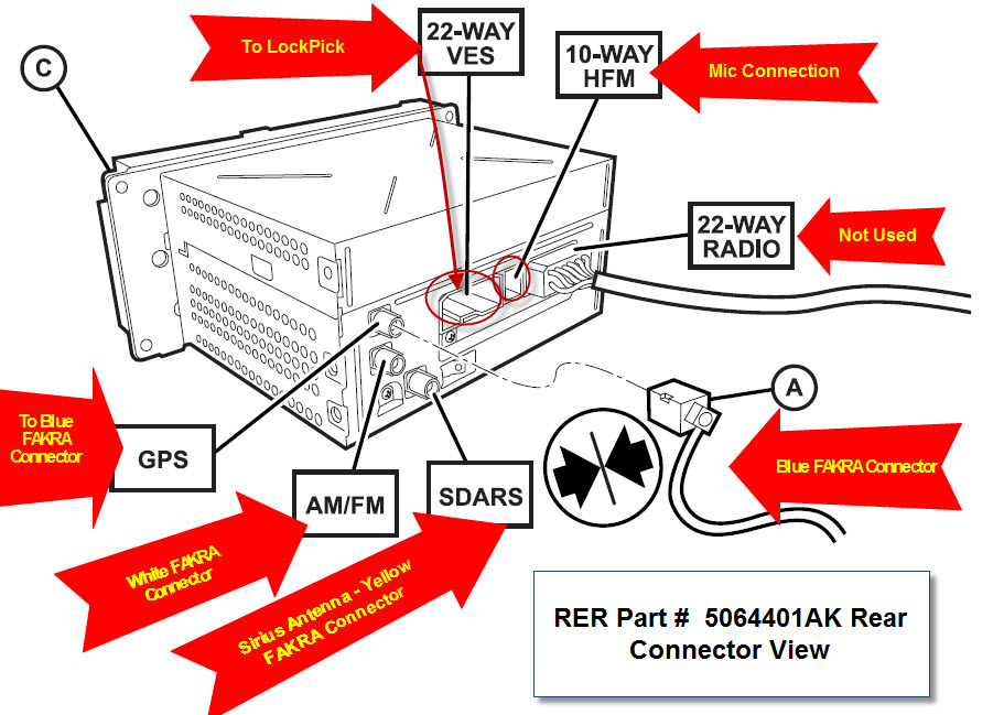 Mopar Uconnect Touch Screen Wiring Diagram