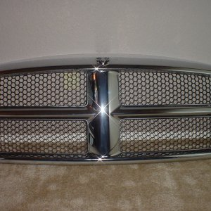 Stock Grille Removed