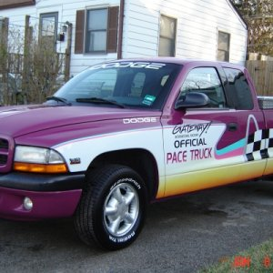 My 97 Gateway Inernational Offical Pace Truck