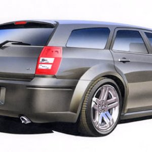Illustration of my 2005 Dodge Magnum RT