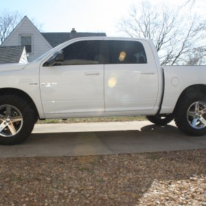 Leveling Kit With 35x12.5
