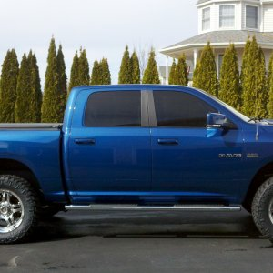 Body Lift 09 Ram Crew Sport