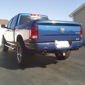 09 Ram Crew Sport Body Lift