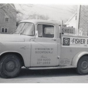 My truck in the 60's