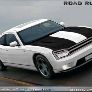 Road Runner Concept in white - Mod.