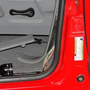 power tailgate handle install