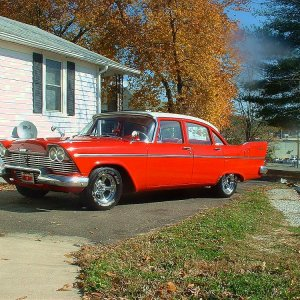 1958 Plymouth With Hemi