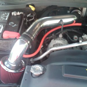 Polished Cold Air Intake (chrome Intakes)
