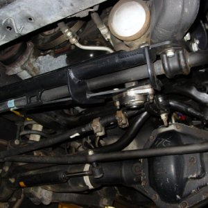 Steering Box Stabilizer.
