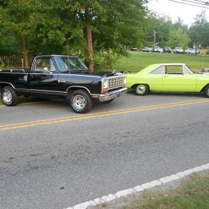 1970 Dodge Dart And 1984 Dodge Ram 150