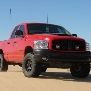 Dodge Ram In The Dunes