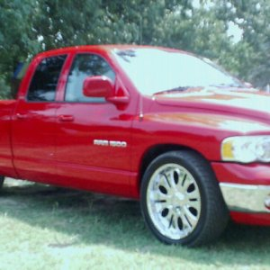 02 Red Ram on 22's